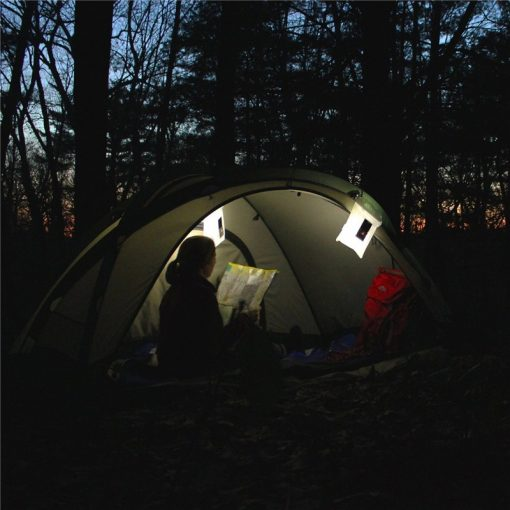 Inflatable Solar LED Camp Light for Double Tents