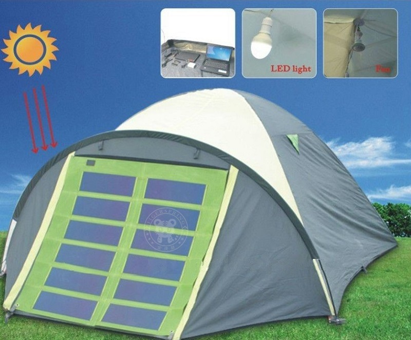 Solar Power Tents